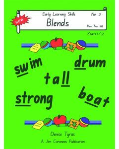 Early Learning Skills Book 3 Years 1-2: Blends (No. 168)