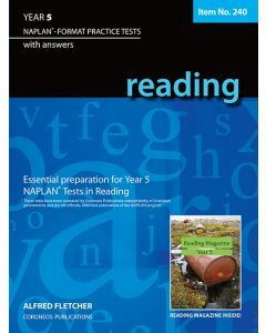 Reading Year 5 - NAPLAN* Format Practice Tests (Basic Skills No. 240)