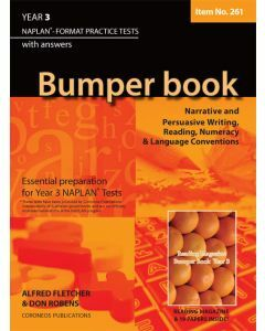Bumper Book Year 3 NAPLAN* Format Practice Tests 2014 Edition (Item no.261)