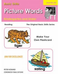Picture Words Yrs K and Under  (Basic Skills No. 90)