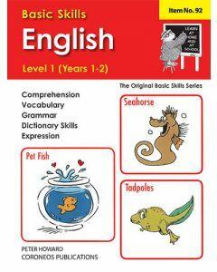 English Level 1 Yrs 1 - 2 (Basic Skills No. 92)