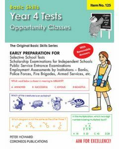 Year/Grade 4 Tests (O.C.) Multiple Choice Yrs 4–5 (Basic Skills No. 125)
