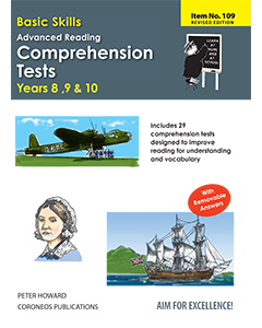 Advanced Reading Comprehension Tests Yrs 8 to 10 (Basic Skills No. 109)