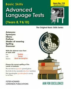 Advanced Language Tests Yrs 8 - 10 (Basic Skills No. 110)