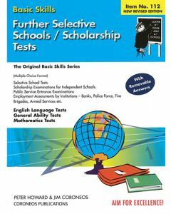 Further Selective School and Scholarship Tests (Basic Skills No. 112)