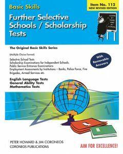 Further Selective School and Scholarship Tests (Basic Skills No. 112)