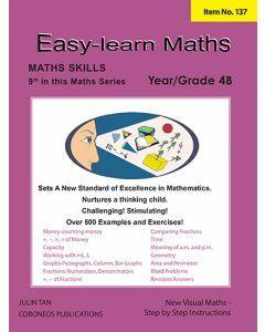 Basic Skills - Easy Learn Maths 4B (Basic Skills No. 137)