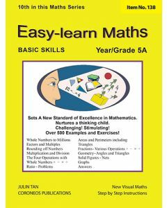 Basic Skills - Easy Learn Maths 5A (Basic Skills No. 138)