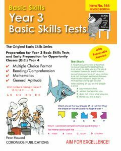 Year 3 Basic Skills Tests - Suitable preparation for NAPLAN* Tests (Basic Skills No. 144)