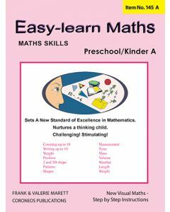 Basic Skills - Easy Learn Maths Pre / Kinder A (Basic Skills No. 145A)