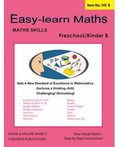 Basic Skills - Easy Learn Maths Pre / Kinder B (Basic Skills No. 145B)