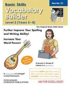 Vocabulary Builder Level 2 Years 5 - 8 (Basic Skills No. 151)