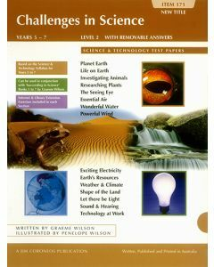 Challenges in Science Book 2: Science and Technology Tests Years 5 to 7 (item no. 171)
