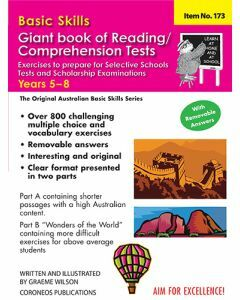 Basic Skills Giant Book of Reading / Comprehension Tests Years 5 to 8 (Basic Skills No. 173)