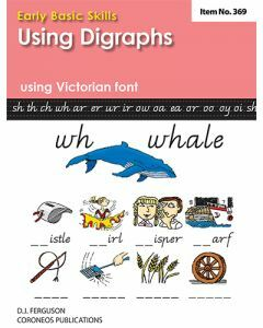 Early Basic Skills 4: Using Digraphs using Victorian font (No. 369)