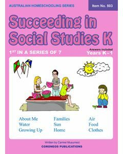 Succeeding in Social Studies Kindergarten (Title No. 503)