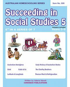 Succeeding in Social Studies Year 5 (Title No. 508)