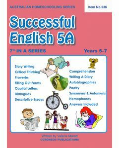 Successful English 5A - Australian Homeschooling Series (Item No. 536)