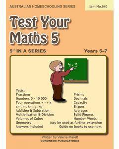 Test Your Maths 5 (Item No. 540)