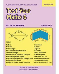 Test Your Maths 6 (Item No. 552)