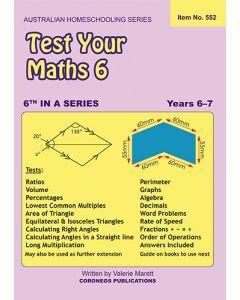 Test Your Maths 6 (Item No. 552)