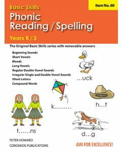 Phonic/Reading Spelling Yrs K to 3 (Basic Skills No. 60)