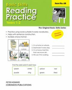 Reading Practice Yrs 1 to 3 (Basic Skills No. 68)