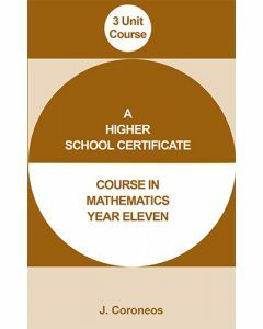 Year 11 3 Unit  Mathematics Course