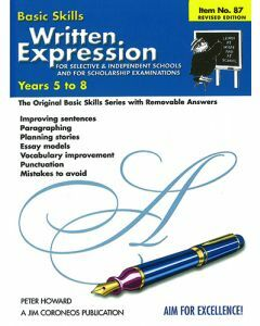 Written Expression for Selective & Scholarship exams (Basic Skills 87)