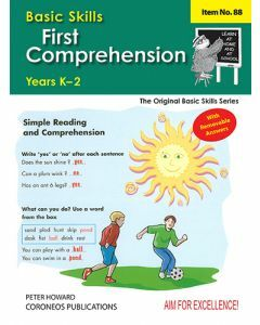 First Comprehension Yrs K to 3 (Basic Skills No. 88)
