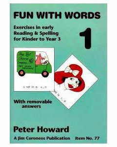 Fun with Words Book 1 (colour) Yrs K to 3  (Basic Skills No. 77)