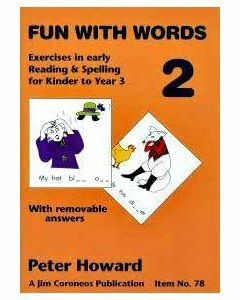 Fun with Words Book 2 (colour) Yrs K to 3  (Basic Skills No. 78)