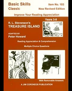 Treasure Island by Robert Louis Stevenson Yrs 3 to 8 (Basic Skills No. 103)