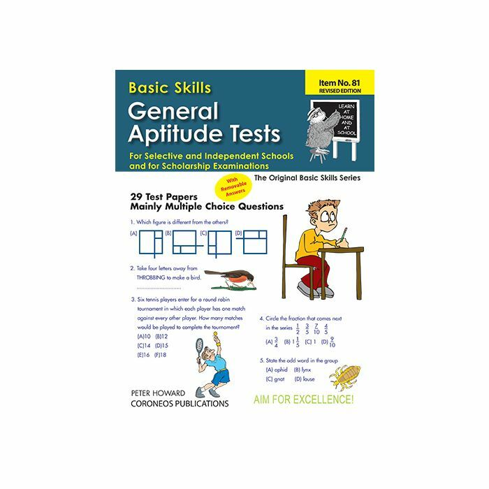 General Aptitude Tests for Selective Yrs 5 to 8 (Basic Skills No  81)