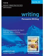 Writing Year 5 NAPLAN* Format Practice Tests 2011 edition #253