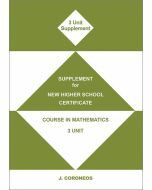 Supplement for 3 Unit Mathematics (Item No. 11)