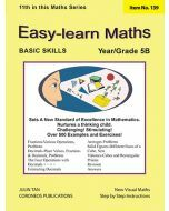 Basic Skills - Easy Learn Maths 5B (Basic Skills No. 139)