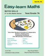 Basic Skills - Easy Learn Maths 7A  Years 6-8 (Basic Skills No. 142)