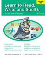 Learn to Read, Write & Spell Book 6 Yrs 3 to 8 (Item no. 182)