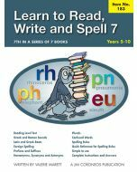 Learn to Read, Write & Spell Book 7 Yrs 5 to 10 (Item no.183)