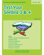 Test Your Spelling Years 3 and 4 (Item no. 529)