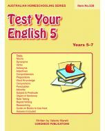 Test Your English 5 (Item no.539)