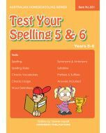 Test Your Spelling 5 & 6 (Item no. 551)