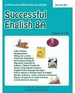Successful English 8A (Australian Homeschooling no. 562)
