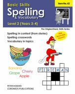 Spelling / Vocabulary Level 2 Yrs 3 - 4 (Basic Skills No. 62)