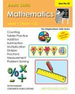 Basic Skills Maths Level 1 Yrs 1 - 2 (Basic Skills No. 65)
