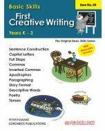 First Creative Writing Yrs K to 3  (Basic Skills No. 89)