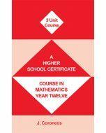 Year 12  3 Unit Maths Course (Item no. 8)